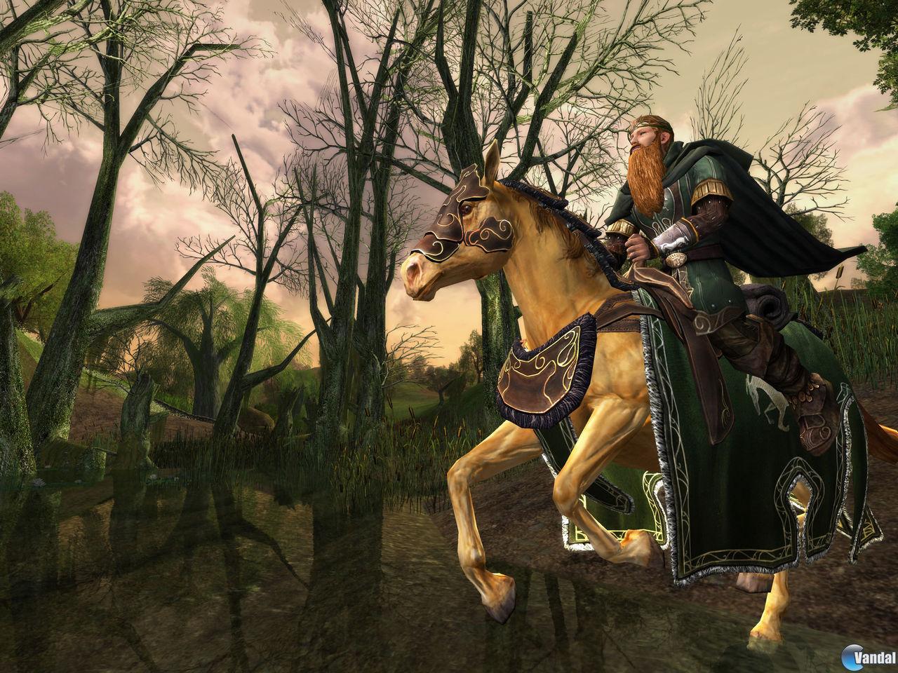 E3: Nuevas imágenes de El señor de los anillos Online