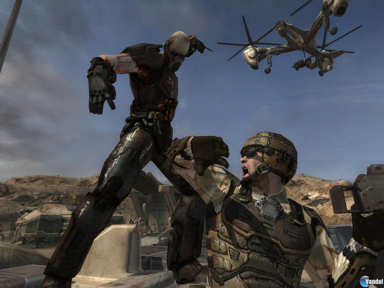 E3: Más imágenes de Enemy Territory: Quake Wars