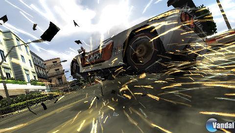 E3: Más imágenes de Burnout Legends para PSP