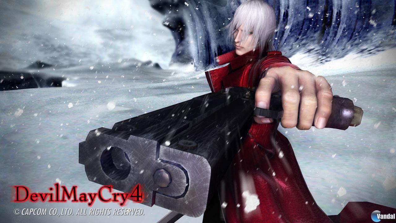 E3: Primera imagen de Devil May Cry 4
