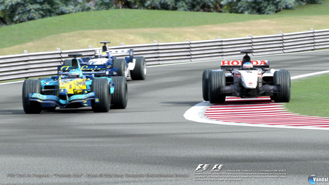 E3: Formula 1 para PlayStation 3