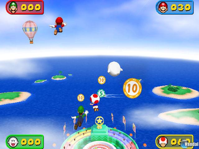 E3: Imágenes de Mario Party 7