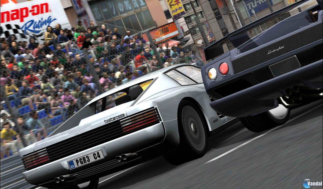 E3: Primeras imágenes de Project Gotham Racing 3
