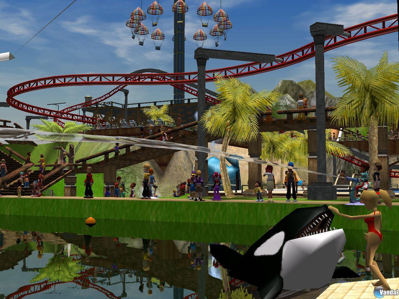 E3: Imágenes de RollerCoaster Tycoon 3: Soaked!