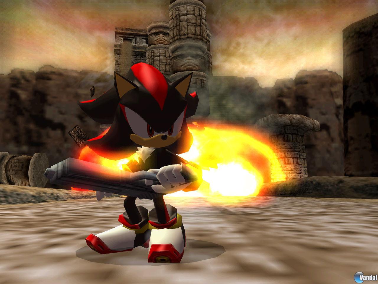 E3: Nuevas imágenes de Shadow the Hedgehog