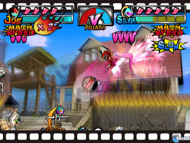 E3: Imágenes de Viewtiful Joe VFX Battle