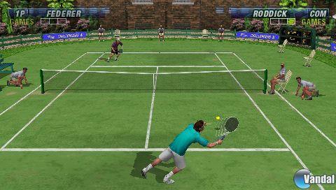 Detalles e imágenes de Virtua Tennis para PSP