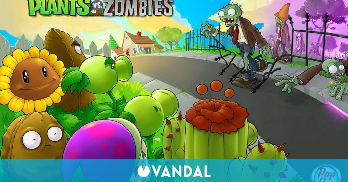 zombie para trabajo resistente al agua Blanco Plants vs escuela plantas de viaje vs zombis negocios universidad - RQPPY670 juego cl/ásico White planta Funda para ordenador port/átil
