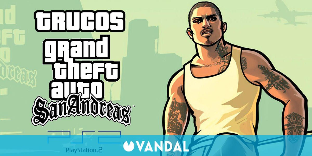 Trucos Gta San Andreas Ps2 Todas Las Claves Que Existen 2020
