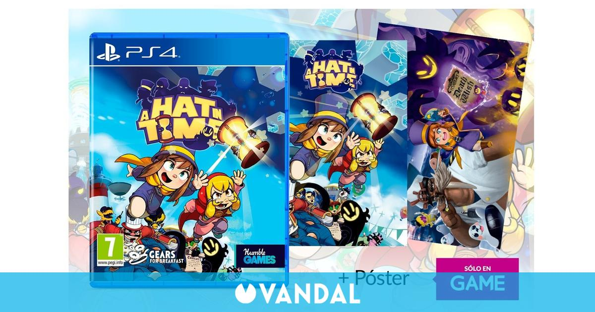 Reserva A Hat in Time en GAME y recibe un póster exclusivo de regalo