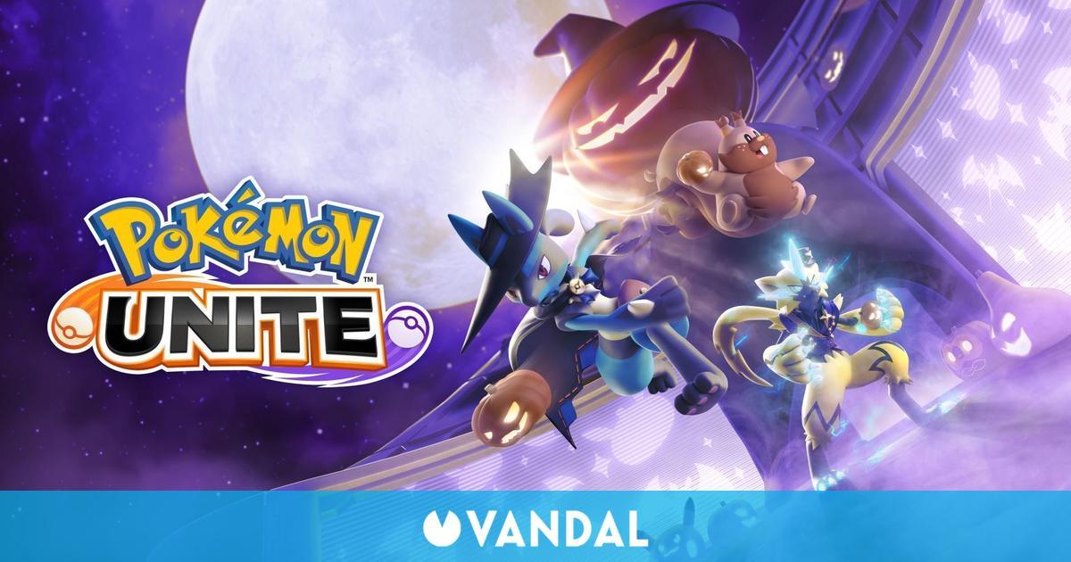 Pokémon Unite: Greedent debutará en el Festival de Halloween - Fechas y detalles