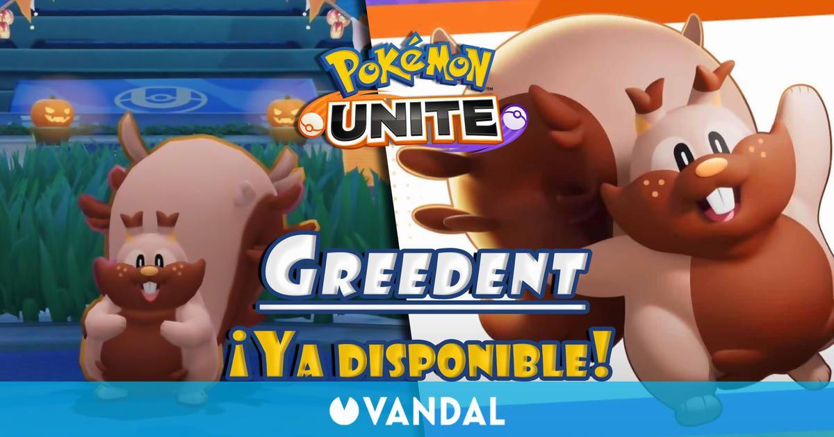 Pokémon Unite: Ya disponible Greedent desde hoy - Habilidades y movimientos