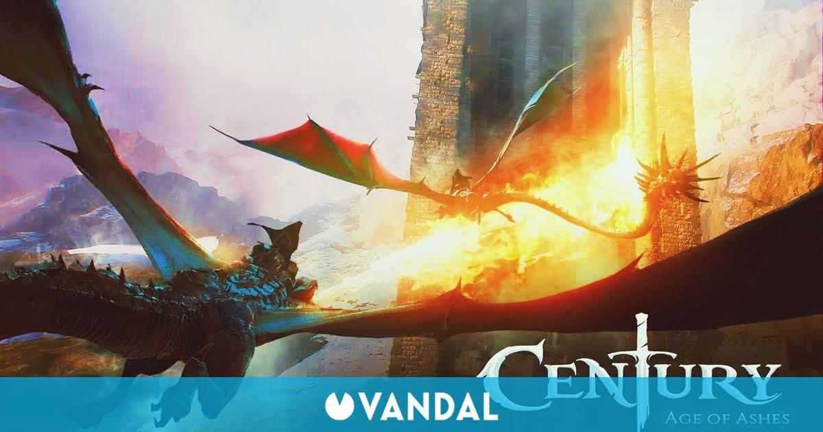 Los dragones de Century: Age of Ashes también llegan a consolas y dispositivos móviles