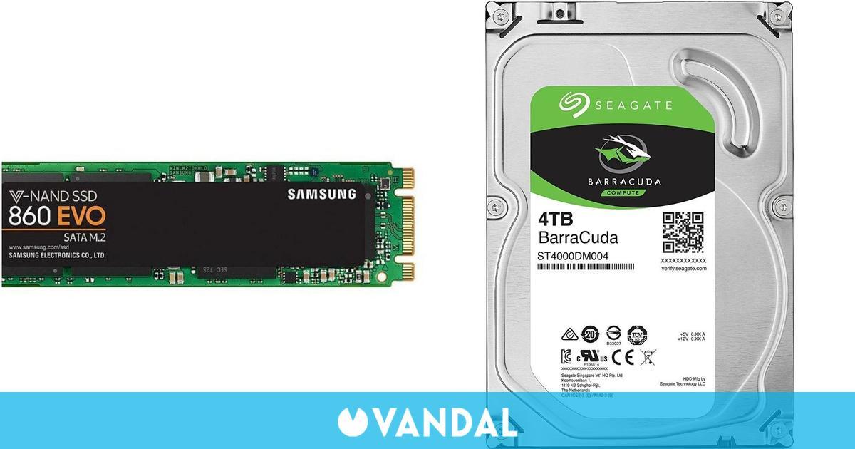 Las unidades SSD se vendieron más que los discos duros tradicionales en 2020