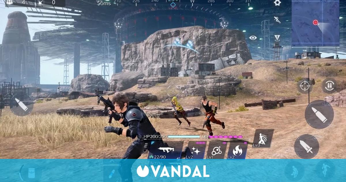 Final Fantasy 7: The First Soldier es un battle royale para móviles que llegará este año