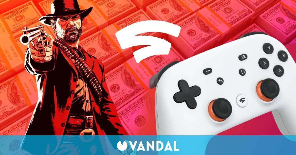 Stadia pagó 'decenas de millones de dólares' para tener juegos como Red Dead Redemption 2