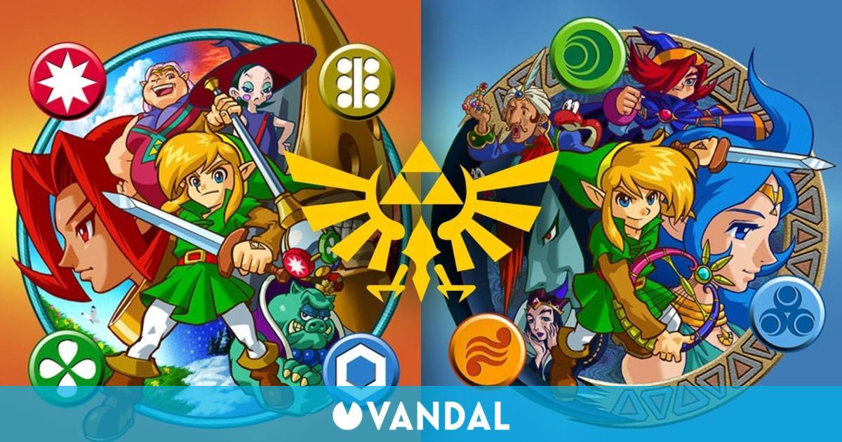 The Legend of Zelda: Oracle of Seasons y Oracle of Ages cumplen hoy 20 años