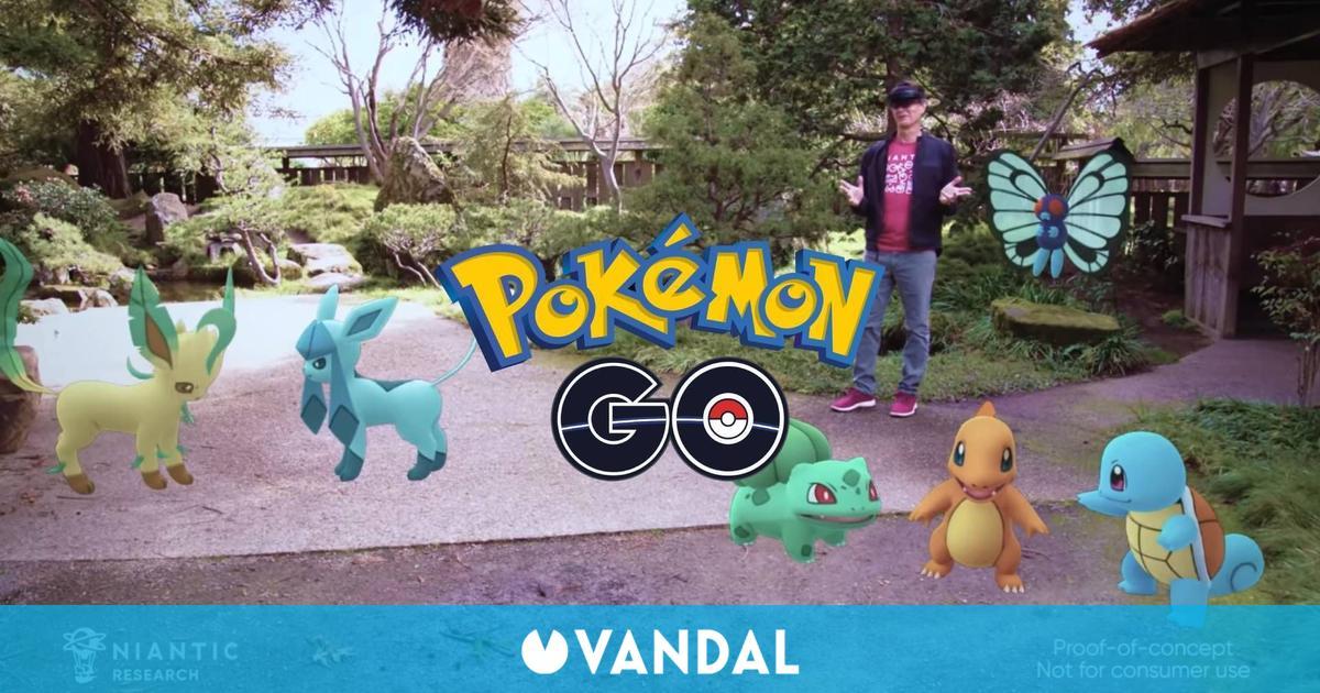 Pokémon GO: Niantic muestra cómo sería el juego en las Hololens 2 de Microsoft