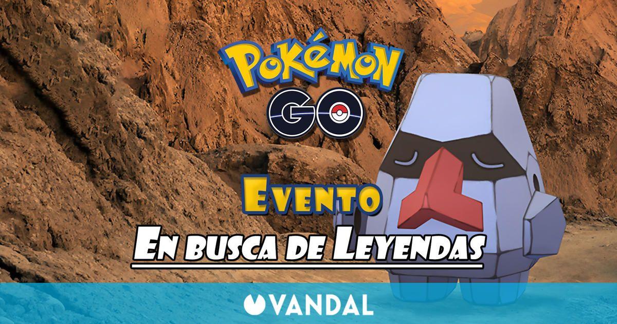 Pokémon GO - Evento En busca de Leyendas: fechas y todos los detalles