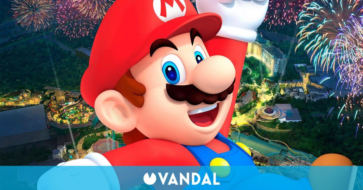 La apertura de Super Nintendo World en Florida se habría retrasado a 2025