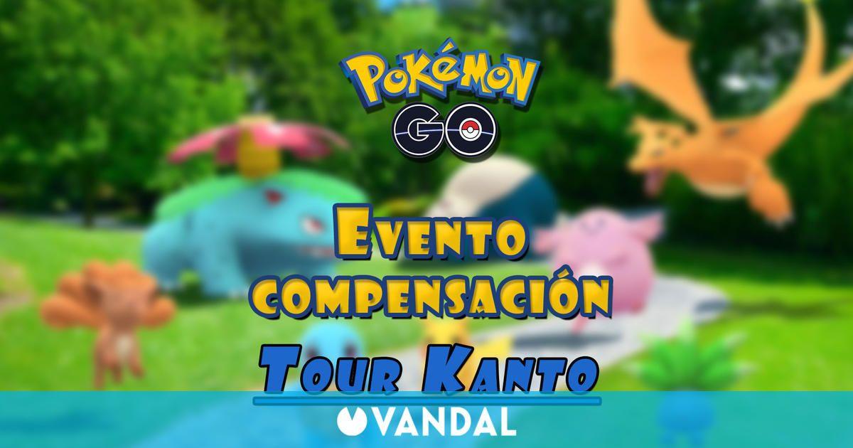 Pokémon GO - Evento de compensación del Tour de Kanto; recompensas y detalles