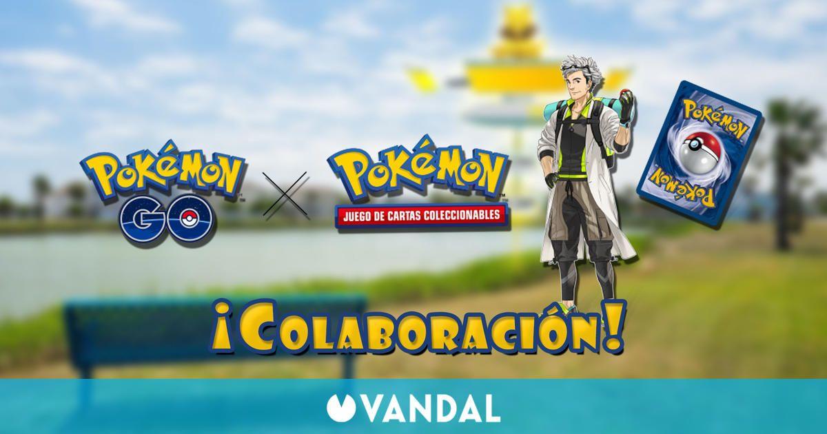 Pokémon GO anuncia una colaboración con el Juego de Cartas Coleccionables Pokémon