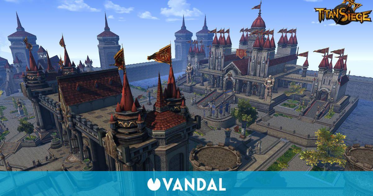 Anunciada la beta abierta de Titan Siege, un juego de batallas multijugador para PC