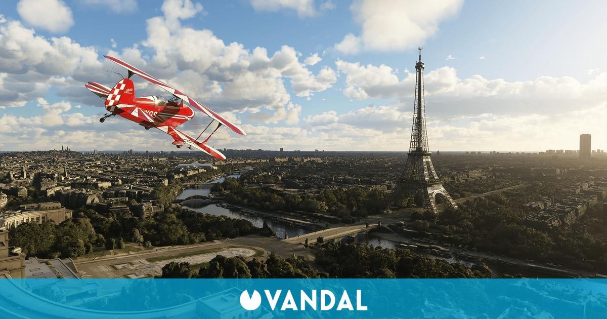 Microsoft Flight Simulator añade más detalle a Francia, Bélgica, Países Bajos y Luxemburgo