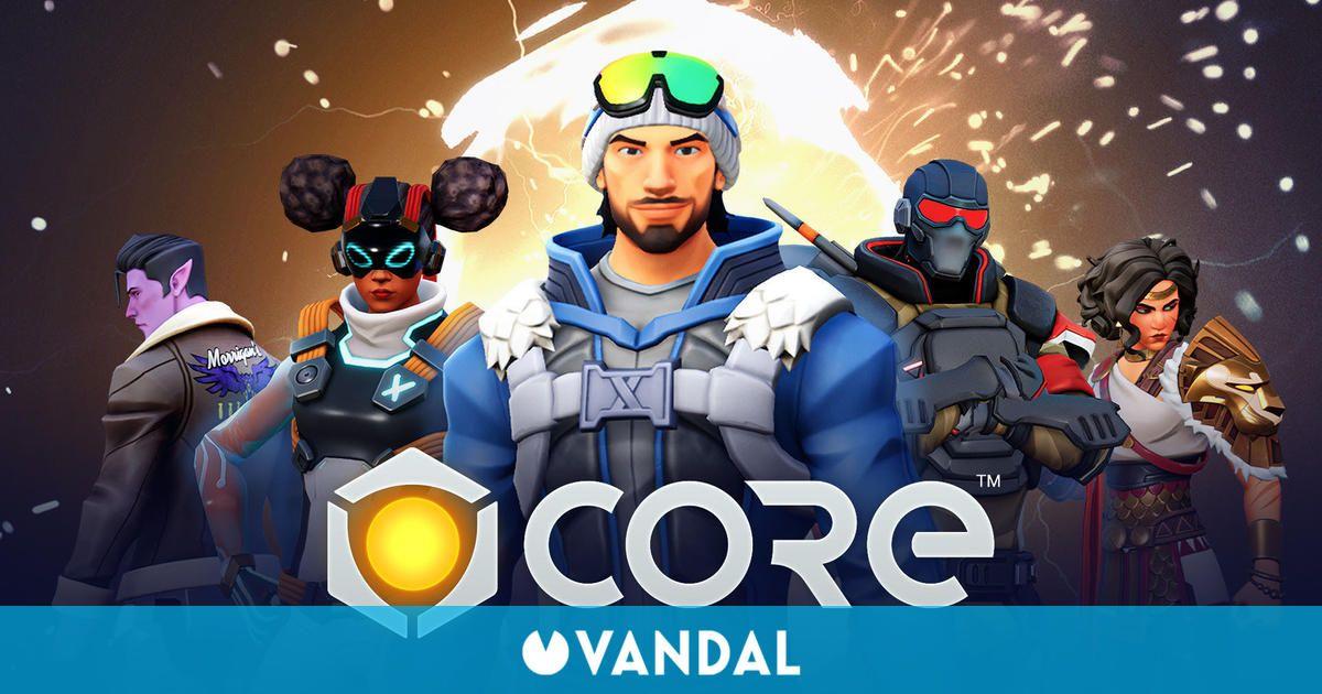 Core, el juego de crear juegos, ya disponible gratis en Epic Games Store