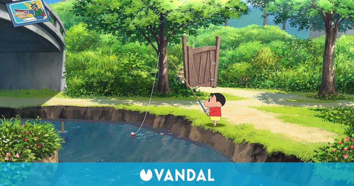 Crayon Shin-chan: Ora to Hakase no Natsuyasumi para Switch llega a Japón el 15 de julio