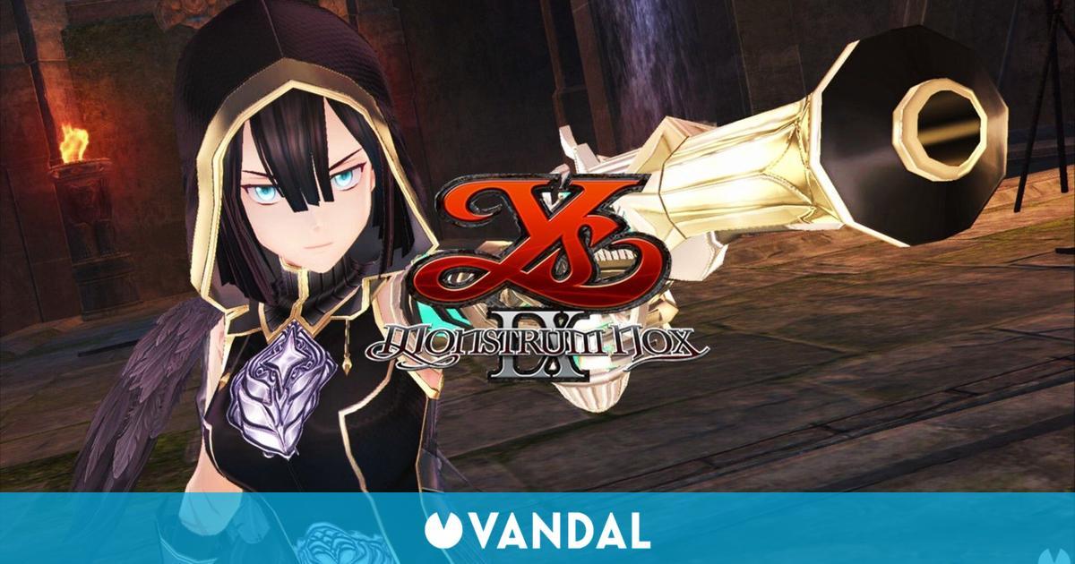 El JRPG Ys IX: Monstrum Nox debutará en PC y Switch el 9 de julio en España