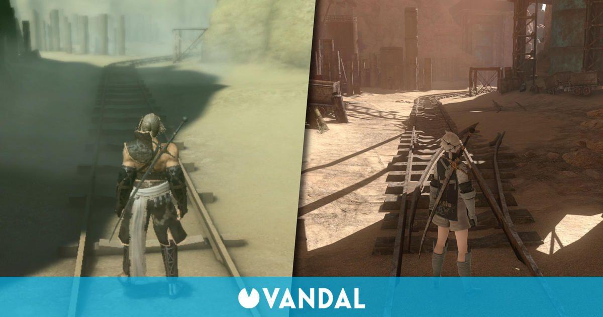 Así es NieR Replicant ver.1.22474487139... vs el Nier original de 2010 - Comparación