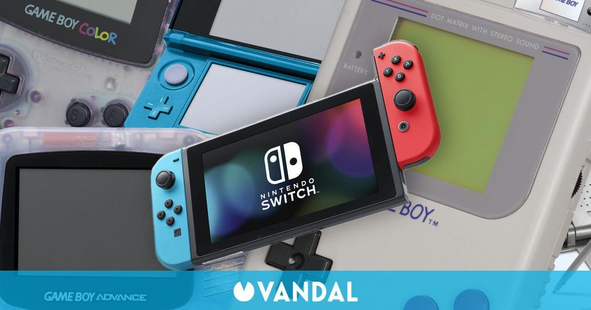 Nintendo ha vendido más de 500 millones consolas portátiles a lo largo de su historia