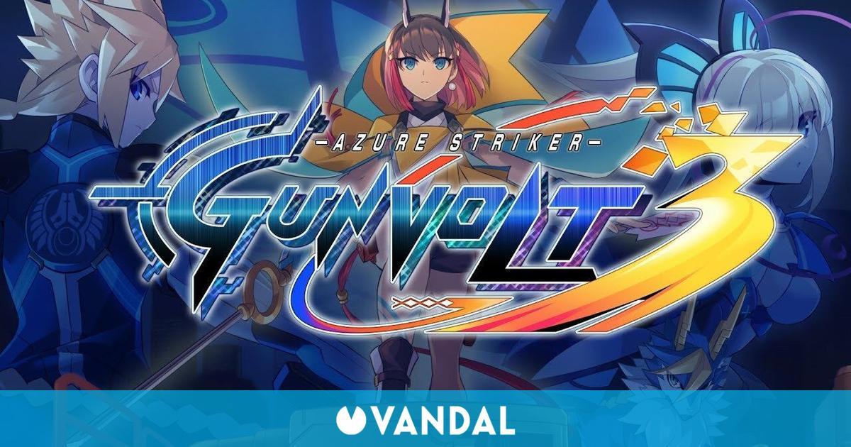 Azure Striker Gunvolt 3: El juego de plataformas y acción llegará a Switch en 2022