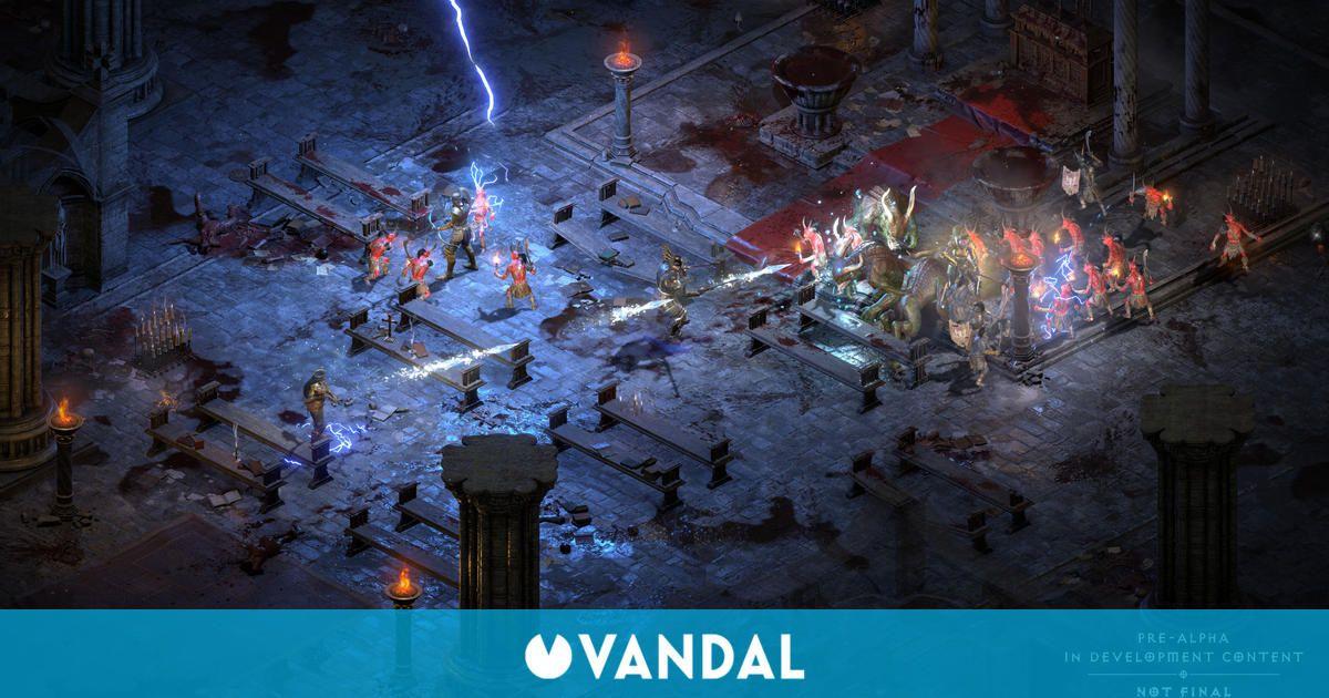 Diablo 2 Resurrected: Las partidas guardadas del original funcionarán en el 'remaster'