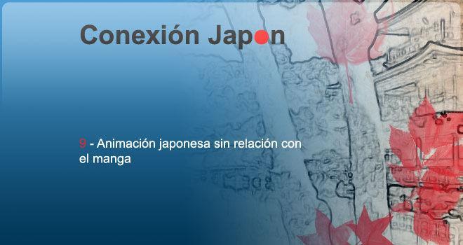 Animación japonesa sin relación con el manga