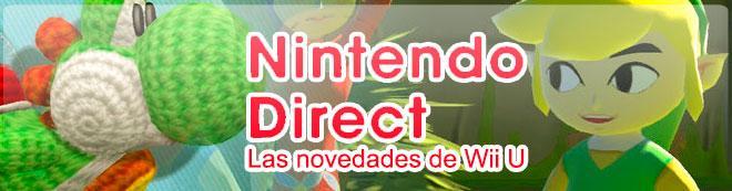 Nintendo Direct: Las novedades de Wii U