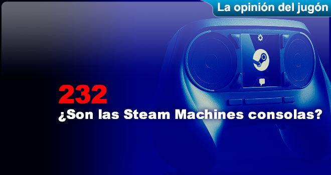 ¿Son las Steam Machines consolas?