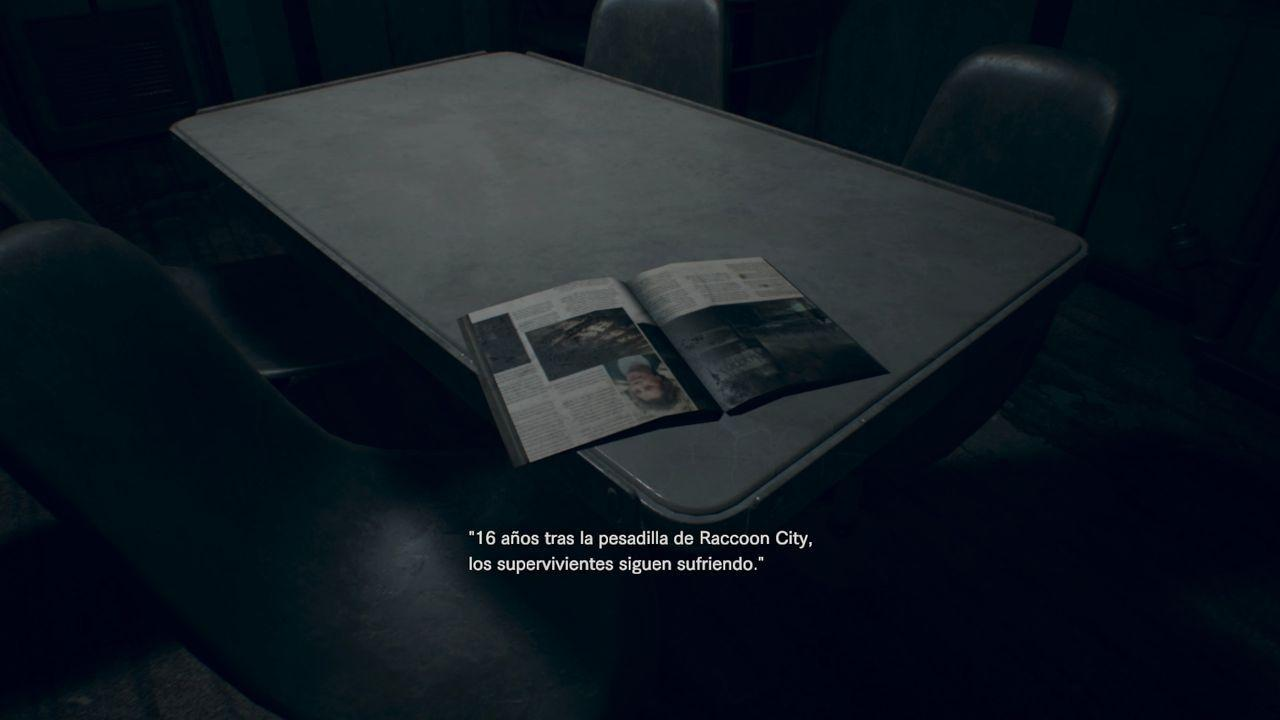 Resident Evil 7 Easter Egg Revista Raccoon City