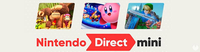 Nintendo Direct Mini enero 2018