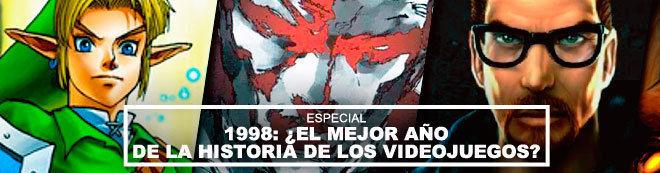 1998: ¿El mejor año de la historia de los videojuegos?