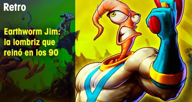 Earthworm Jim: la lombriz que reinó en los 90