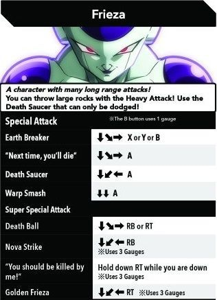 Freezer Dragon Ball FighterZ