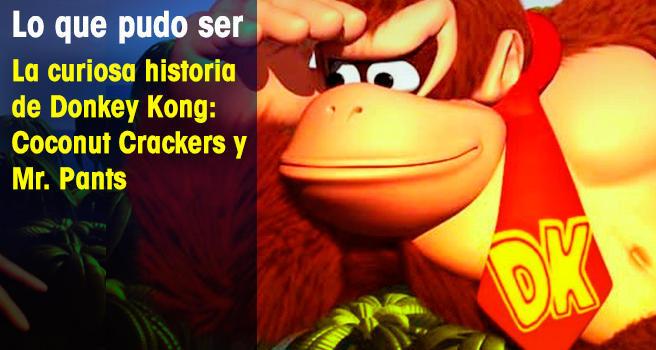 La curiosa historia de Donkey Kong: Coconut Crackers y Mr. Pants