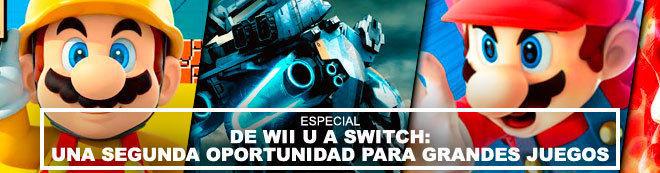 De Wii U a Switch: una segunda oportunidad para grandes juegos