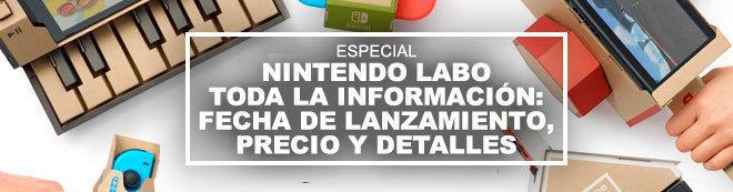 Nintendo Labo TODA la información: fecha de lanzamiento, precio y detalles