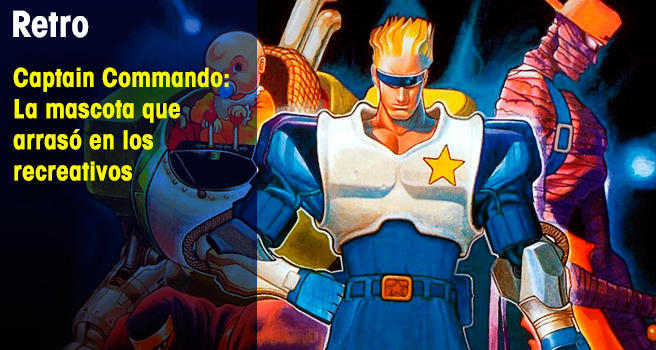 Captain Commando: La mascota que arrasó en los recreativos