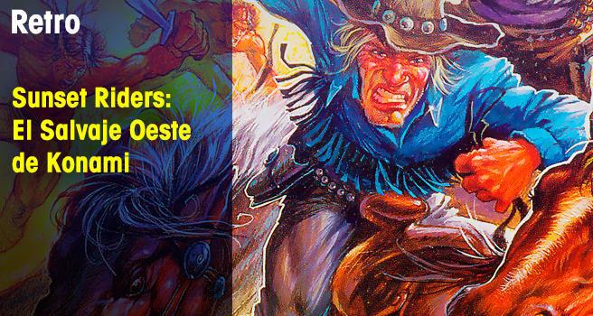 Sunset Riders: El Salvaje Oeste de Konami