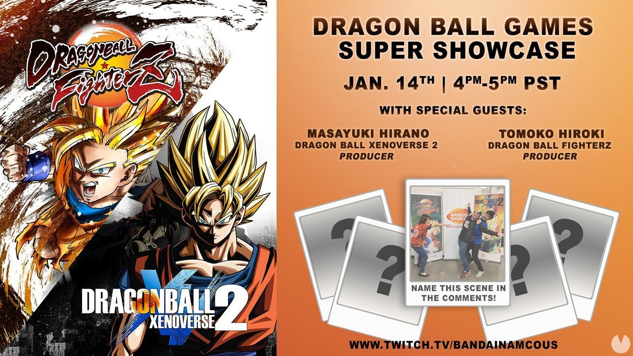 Bandai Namco promises news of Dragon Ball the 14 January