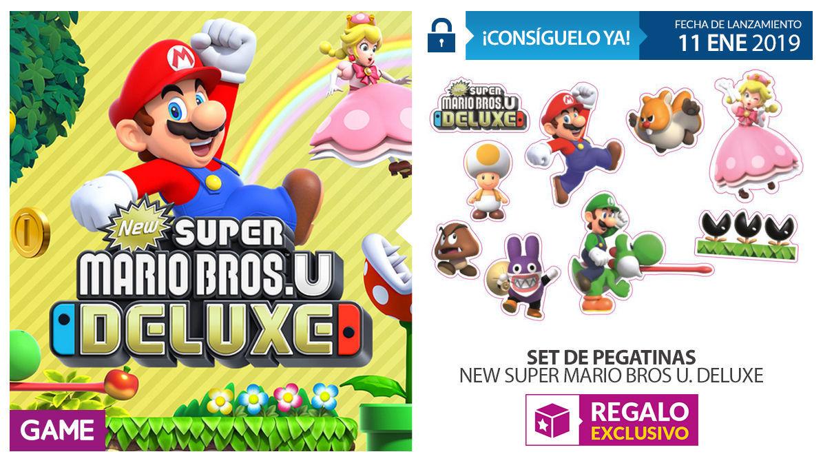 GAME detalla sus incentivos por comprar New Super Mario Bros. U Deluxe